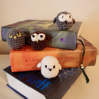 Harry Potter Owls Amigurumi Owls Crochet Owl by amandajocrafts