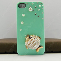 iPhone cover  fishy case  iPhone 4s case iPhone 4s case iPhone cover   14 color choices