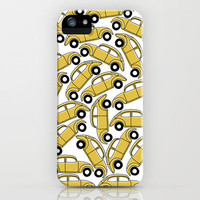 Slug Bug Pile Up iPhone Case by Monica Gifford | Society6