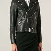 Saint Laurent Classic Biker Jacket - O' - Farfetch.com