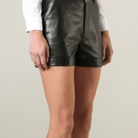 Saint Laurent Cuffed Shorts - Stefania Mode - Farfetch.com