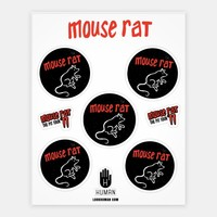 MOUSE RAT STICKERS