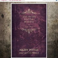 Harry Potter Movie Poster - The Half Blood Prince: 11x17 Fantasy Art Print