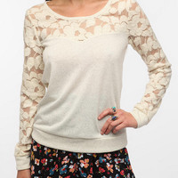 Sweet Tart Lace Sweatshirt