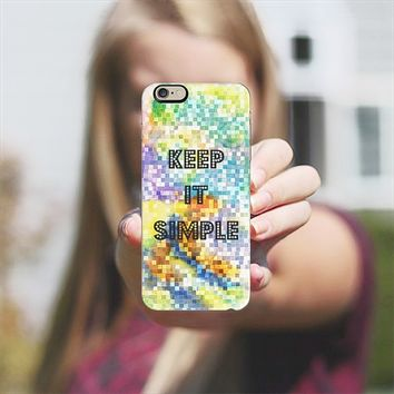 KEEP IT SIMPLE iPhone 6 case by Heaven Seven | Casetify