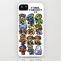 Final Fantasy II Characters iPhone Case by Nerd Stuff | Society6