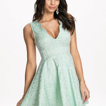 Scallop Edge Dress, NLY One