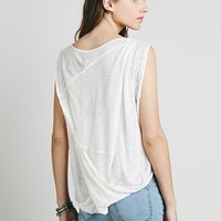 Free People New Romantics Twist And Shout Tee
