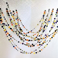 Quite Bewitching Halloween 25&#x27; Paper Garland by MaraMay on Etsy