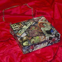 Poison Ivy Cigar Box Purse