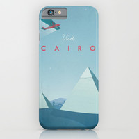 Cairo - Vintage Travel Poster iPhone & iPod Case by VintageTravelPosters.co