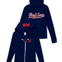 Boston Red Sox Bling Full-Zip Hoodie - PINK - Victoria's Secret