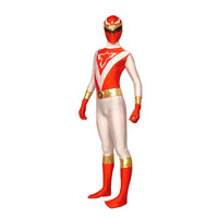 Full Body Red and White Lycra Spandex Back Zipper The Terminator Unisex Zentai Suit [TWL111226013] - £23.39 : Zentai, Sexy Lingerie, Zentai Suit, Chemise