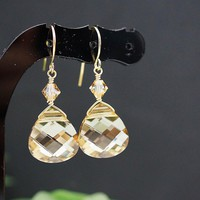 Wedding Jewelry Bridal Earrings Bri.. on Luulla