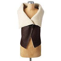 Swing Shearling Vest - Jackets - APPAREL - Jessica Simpson Collection