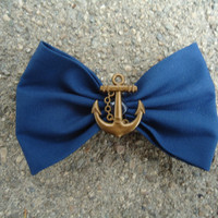 Blue Anchor Bow