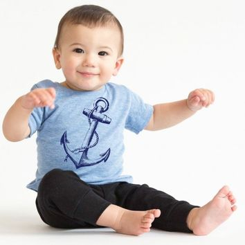 Anchor Baby Infant Tee | CrazyDog T-shirts