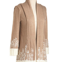 Winter Wheat Cardigan | Mod Retro Vintage Sweaters | ModCloth.com