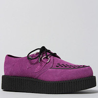 The Low Sole Creeper in Purple Suede