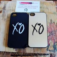 2 weeknd xo Apple Iphone 4 / 4s Hard Case overdose ovoxo