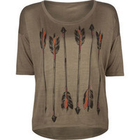 LIRA Quill Womens Tee   209559531 | Graphic Tees &amp; Tanks | Tillys.com