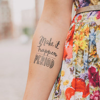 Tattly™ Designy Temporary Tattoos — Make It Happen