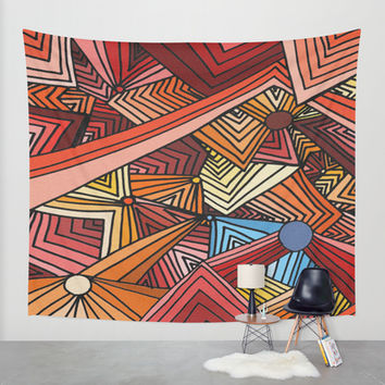 Distracted Wall Tapestry by DuckyB (Brandi)