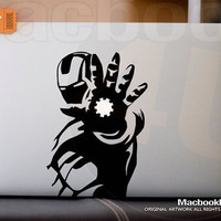 "Iron Man  - LIMITED EDITION macbook decal / sticker ( for 11"" 13"" 15"" 17""  or any Laptop) K001"