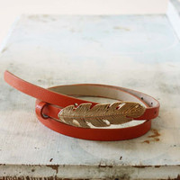 Feathered Journey Belt in Rust, Sweet Bohemian Jewelry