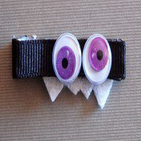 Googly Eye Halloween Hair Clip As Shown