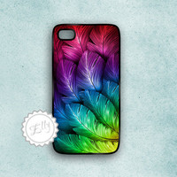 Iphone 4s Feathers Hard Case Apple .. on Luulla