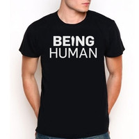 Being Human British Supernatural Drama Television  Custom  Tee T-Shirt