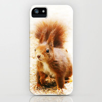 SQUIRREL   iPhone Case by M✿nika  Strigel	 | Society6
