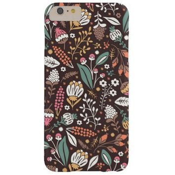 Pretty Vintage Floral Pattern iPhone 6 Plus Case