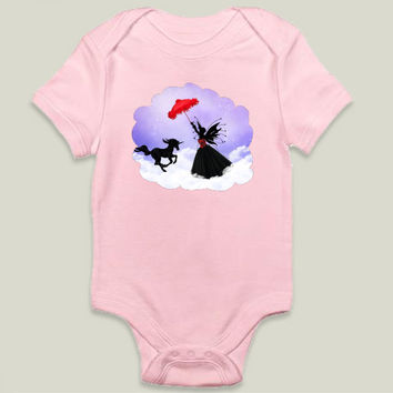 Dancing Fairy Onesy by haroulita on BoomBoomPrints