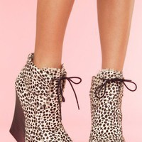 Latrice Wedge Bootie - NASTY GAL