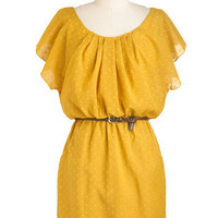 It Mustard Been Love Dress | Mod Retro Vintage Dresses | ModCloth.com