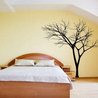 Wall Decal Bare Tree 3 Vinyl Wall Decal 22222