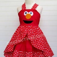 Elmo Jumper Dress