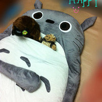 2011 models 220CM Totoro  bed  sleeping bag  sofa   Christmas gifts