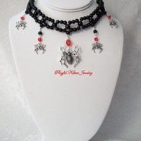 Black Widow Gothic Choker