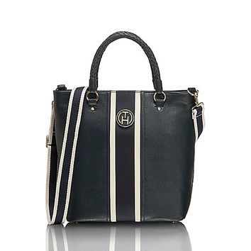 Signature Stripe Tote | Tommy Hilfiger USA