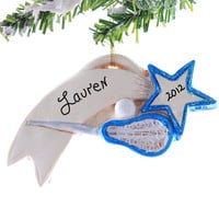 Lacrosse Christmas ornament - personalized lacrosse ornament perfect gift for your favorite player or fan