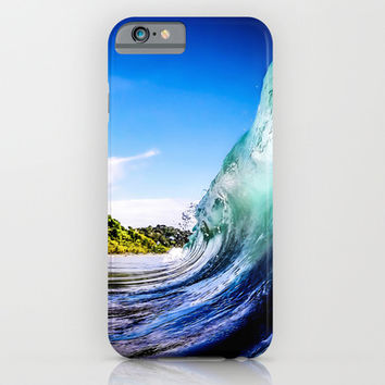 Wave Wall iPhone & iPod Case by Nicklas Gustafsson
