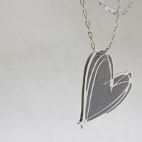 Valentines Day Gift - Heart necklace