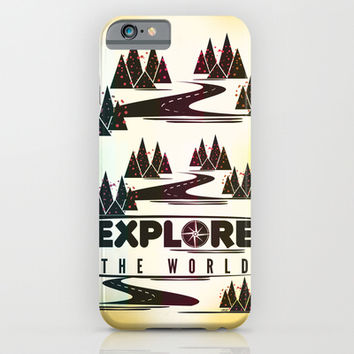 Explore the world iPhone & iPod Case by Famenxt