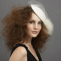 Mannerly Hat in SHOP Attire Hair Adornments at BHLDN