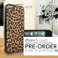 iPhone 5 Hard Case - Leopard Print Full - Phone Cover IP5
