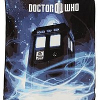 Doctor Who Micro Raschel Throw - 139374