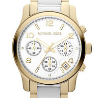 Michael Kors &#x27;Runway&#x27; Chronograph Bracelet Watch | Nordstrom